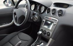 Business car interior stock photo