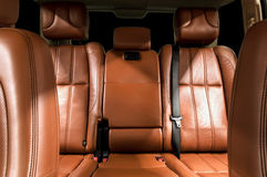 Business car interior. Royalty Free Stock Photos