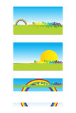 Business card 03. Business card for real estate, architecture, construction business - Labels useful stock illustration