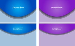 Business Card. Nice clean business card for your company Stock Images