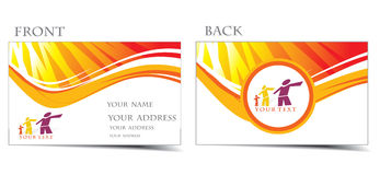Business card royalty free illustration