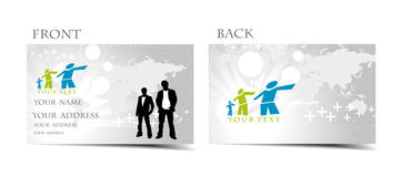 Business card Royalty Free Stock Photos