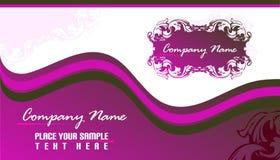 Business card 2x3.5 Royalty Free Stock Photos