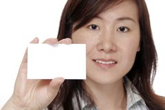Business Card Royalty Free Stock Image