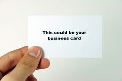 Business card 4 Royalty Free Stock Photos
