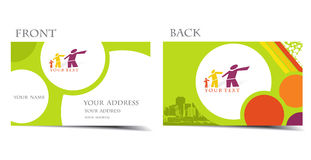 Business card. Vector business card set, for more business card of this type please visit my gallery Stock Photo