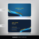 Business card abstract background. Royalty Free Stock Photos