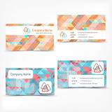 Business card abstract background. Vector illustration. Stock Images