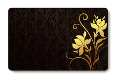 Business card background Royalty Free Stock Photos