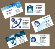 Business Card Background royalty free illustration