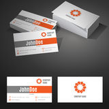 Business Card Background Design Template with Royalty Free Stock Photo