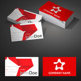 Business Card Background Design Template with Royalty Free Stock Image