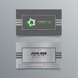 Business Card Background Design Royalty Free Stock Photos