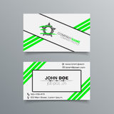 Business Card Background Design Stock Image