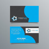 Business Card Background Design Stock Images