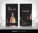 Business card background for your company. Stock Photos