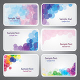 Business Card Backgrounds Stock Image