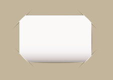 Business card blank Royalty Free Stock Photo