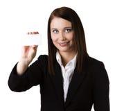 Business card / blank sign Stock Photos