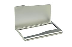 Business Card Case stock image