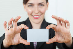 Business card Stock Images