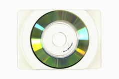 Business Card CD-Rom Royalty Free Stock Images