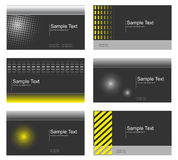 Business card collection Royalty Free Stock Image
