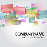 Business card or Design Background for stationary Stock Images