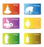 Business card design card design vector Royalty Free Stock Photos