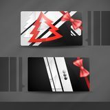 Business Card Design Royalty Free Stock Image
