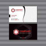 Business Card Design With Place for Photo  and with Logo. Business Card Design With Place for Photo or Photography Image and with Logo stock illustration