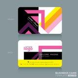Business card Design Template Royalty Free Stock Photos