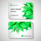Business Card Design Stock Photos