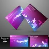 Business Card design Stock Photo