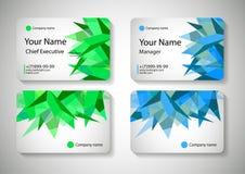 Business Card Design Vector illustration. Stock Images