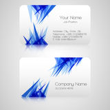 Business card , elements for design. Stock Photo