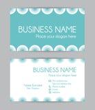 Business card. Flat design. Set I. Stock Photos