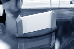 Business card holder Stock Photography