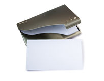 Business card holder Royalty Free Stock Images