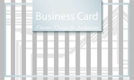 Business Card Interior Design and Architecture. Abstract modern backgrounds. Business Card Interior Design and Architecture. Abstract modern background Royalty Free Stock Photo
