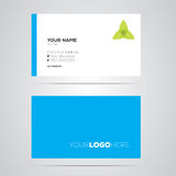 Business Card Layout Stock Photography