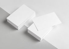 Business card & Letterhead Royalty Free Stock Image