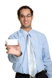 Business Card Man Stock Images
