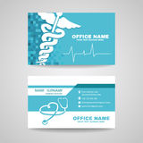 Business card for Medical healthcare Stock Photo