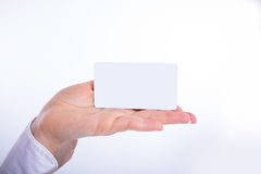 Business card preview template Royalty Free Stock Photos