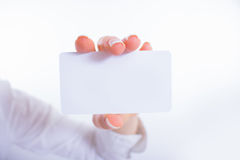 Business card preview template Stock Photos