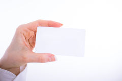 Business card preview template Stock Photography