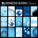 Business card selection Stock Image
