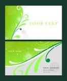 Business card set Stock Photos