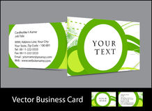 Business card set. Vector business card set , elements for design Royalty Free Stock Photo